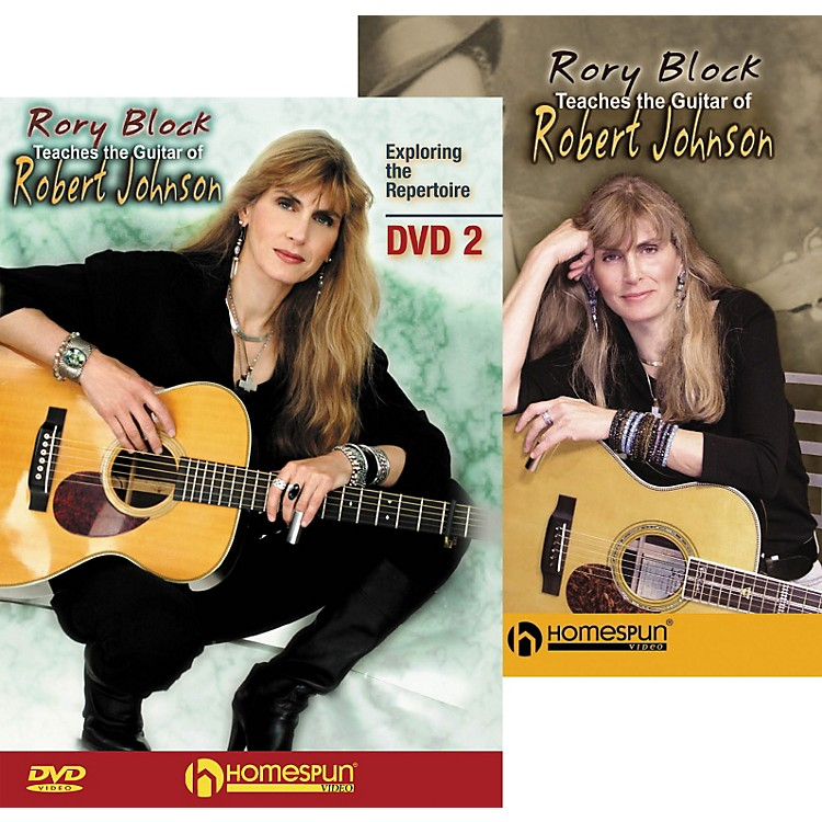 Homespun Rory Block Teaches the Guitar of Robert Johnson (2-DVD Set)