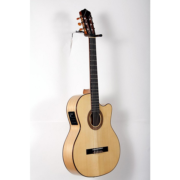Kremona Rosa Luna Flamenco Acoustic-Electric Nylon Guitar Natural 888365898186