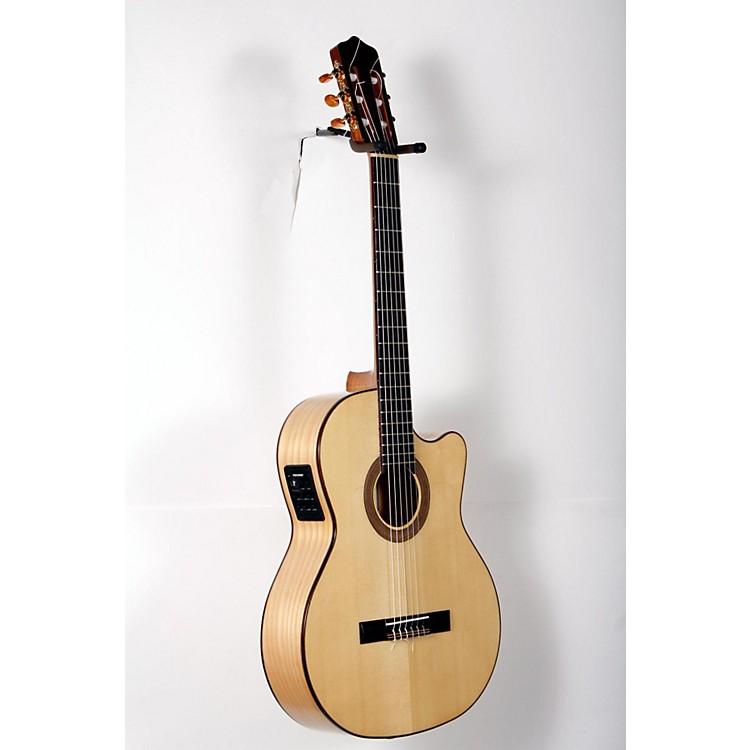 KremonaRosa Luna Flamenco Acoustic-Electric Nylon GuitarNatural888365898186
