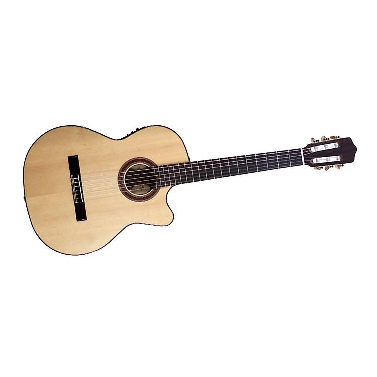 KremonaRosa Luna Flamenco Cutaway Acoustic-Electric Nylon Guitar