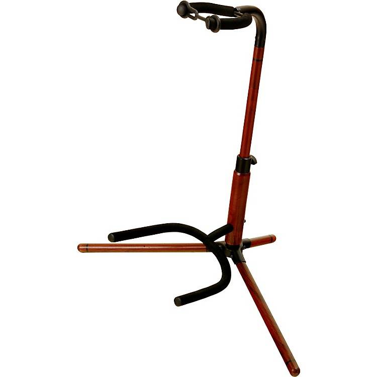 On-Stage Stands Rosewood Tubular Guitar Stand