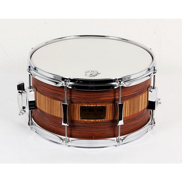 Pork Pie Rosewood Zebra Maple Snare Drum Rosewood Zebra 888365044231