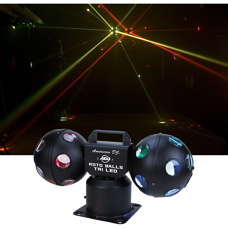American DJ Rotoballs Tri LED Light Effect