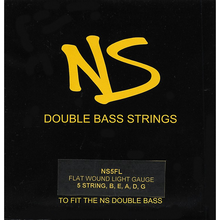 NS Design Roundwound Double Bass Strings Set, 5-String