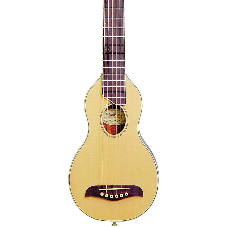 WashburnRover Travel GuitarNatural Satin
