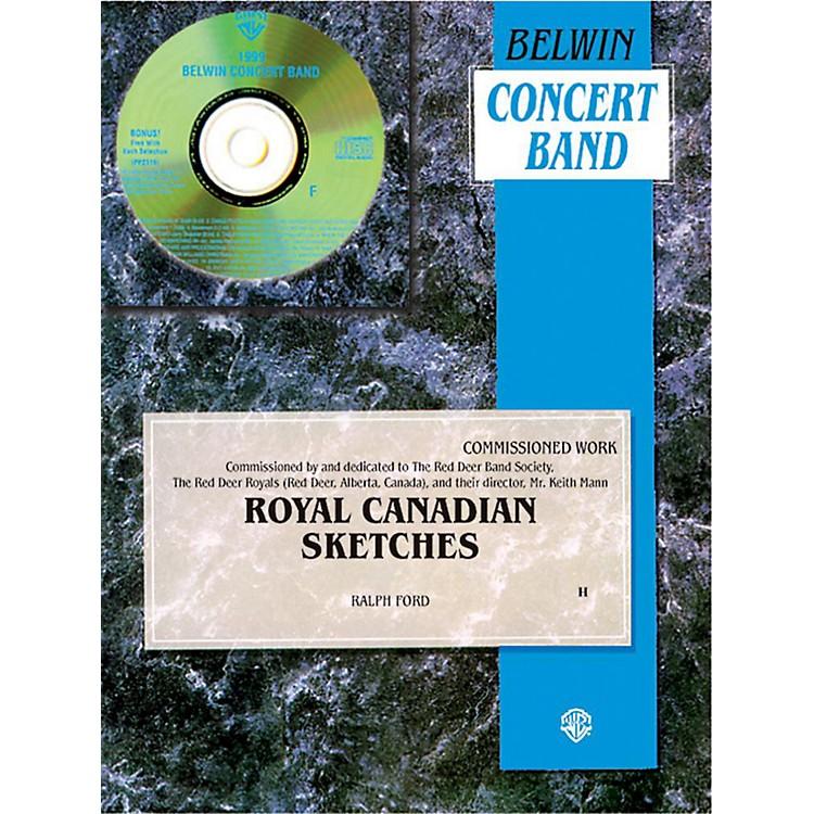 AlfredRoyal Canadian Sketches Concert Band Grade 3 Set