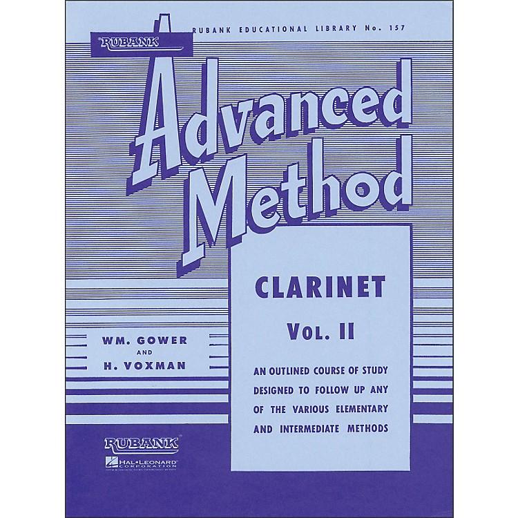 Hal LeonardRubank Advanced Method for Clarinet Volume 2