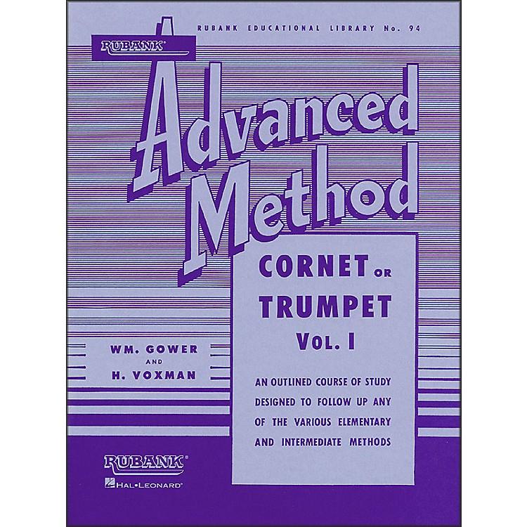 Hal LeonardRubank Advanced Method for Cornet Or Trumpet Volume 1