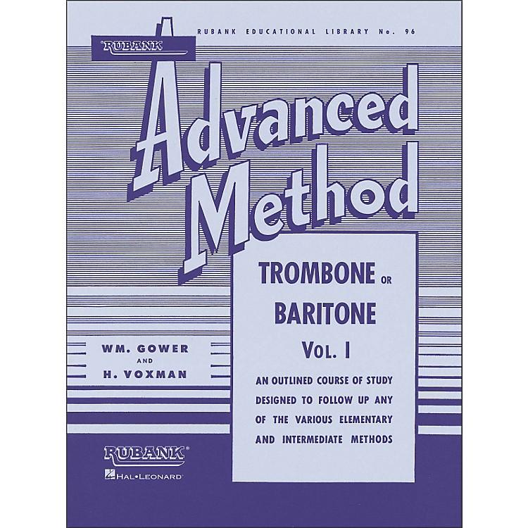 Hal LeonardRubank Advanced Method for Trombone Or Baritone Volume 1