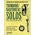 Rubank Book Of Trombone / Baritone B.C. Solos - Easy To Intermediate Level with Piano