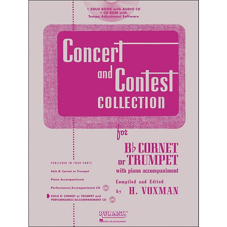 Hal LeonardRubank Concert And Contest Collection Trumpet/Cornet Book/CD