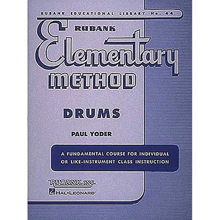 Hal LeonardRubank Elementary Method - Drums Book