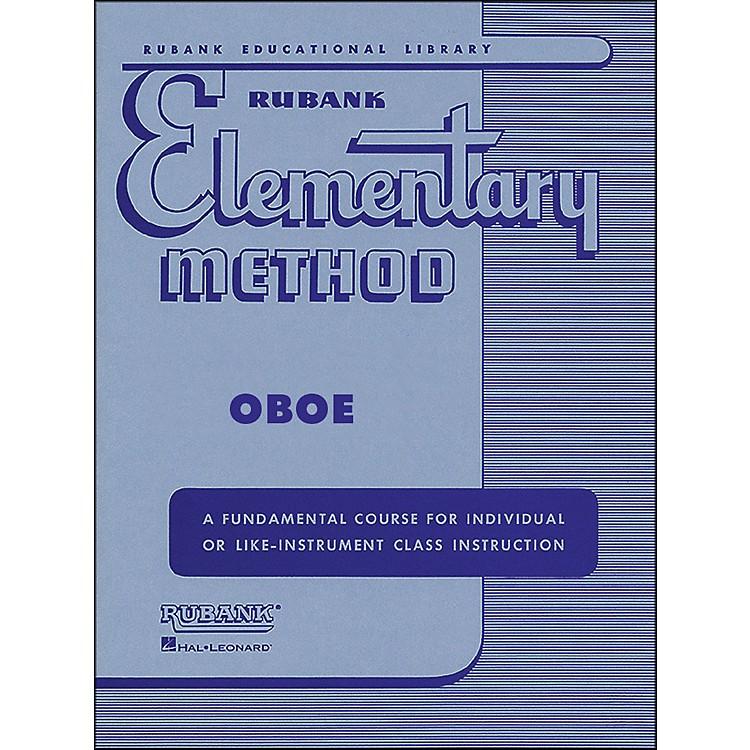 Hal LeonardRubank Elementary Method Oboe