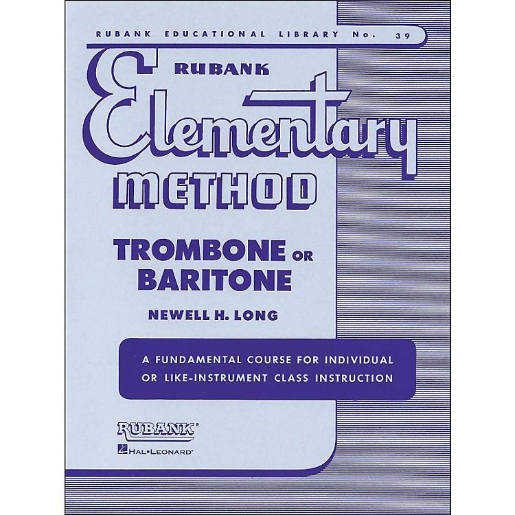 Hal LeonardRubank Elementary Method Trombone Baritone