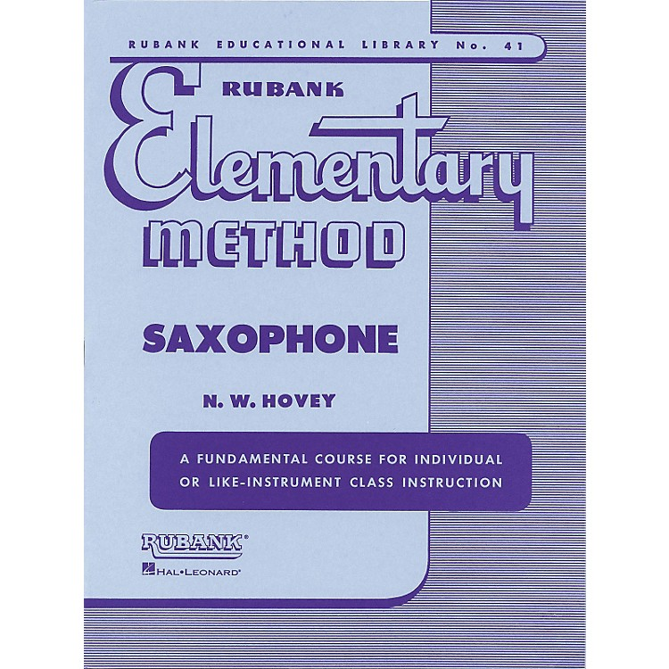 Hal LeonardRubank Elementary Method for Saxophone
