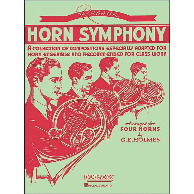 Hal Leonard Rubank Horn Symphony Arranged for Four Horns