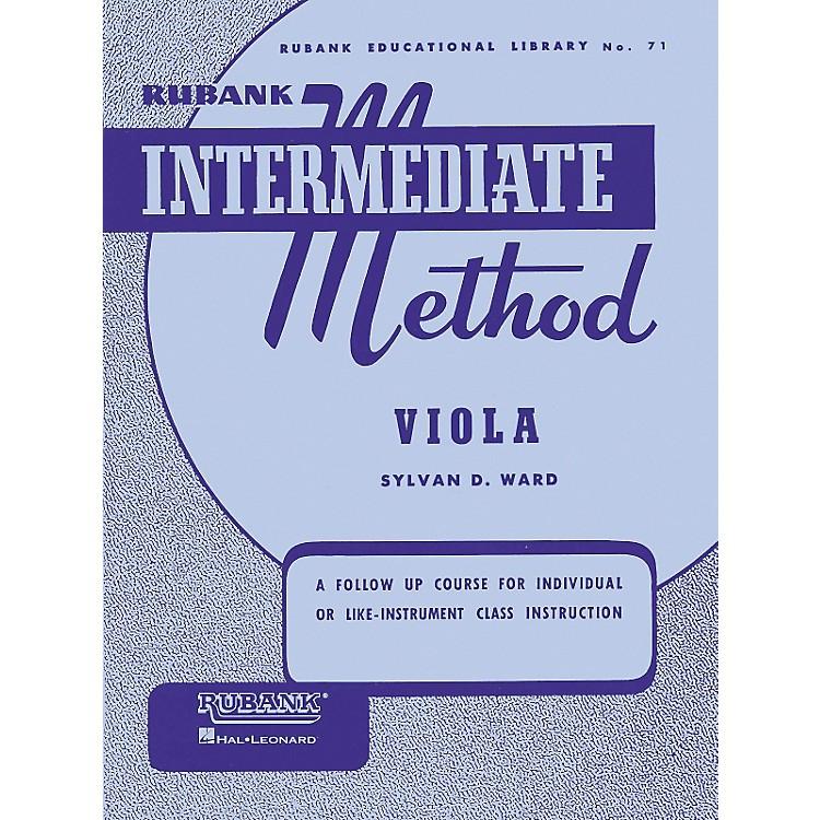 Hal LeonardRubank Intermediate Method - Viola