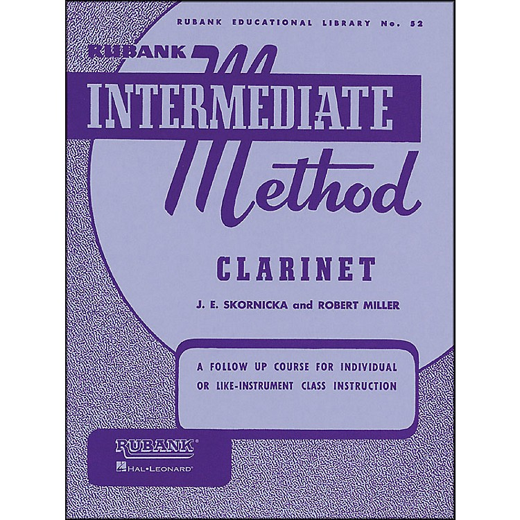 Hal Leonard Rubank Intermediate Method Clarinet