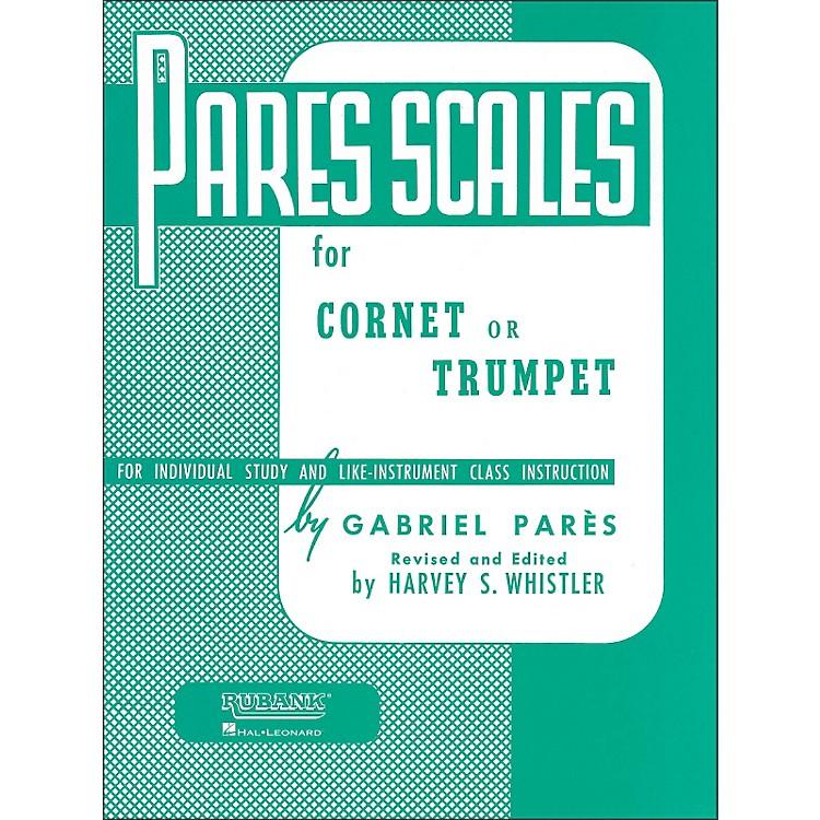 Hal LeonardRubank Pares Scales - Coronet, Trumpet Or Baritone