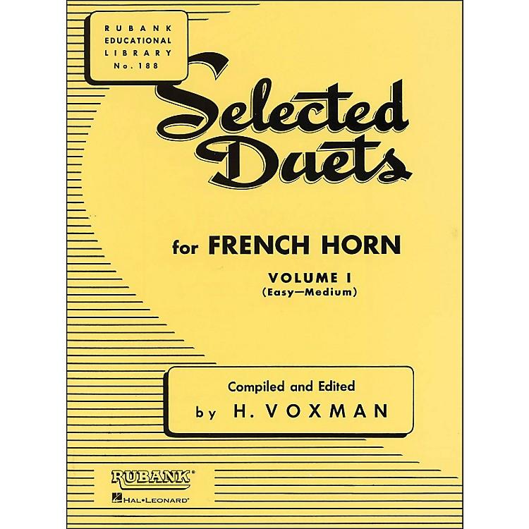 Hal LeonardRubank Selected Duets French Horn Vol 1 Easy/Medium