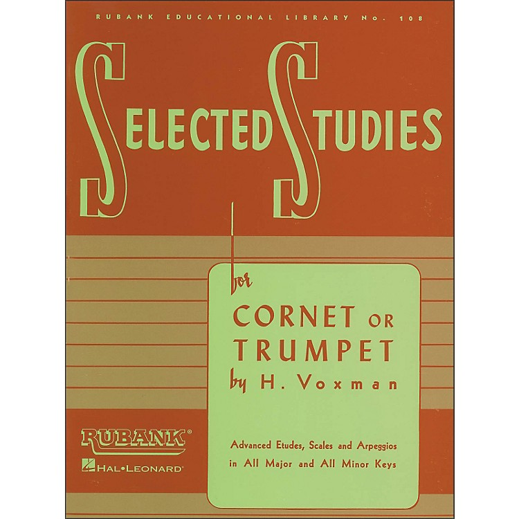 Hal LeonardRubank Selected Studies for Cornet Or Trumpet
