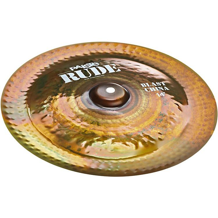 PaisteRude Blast China Cymbal14 in.