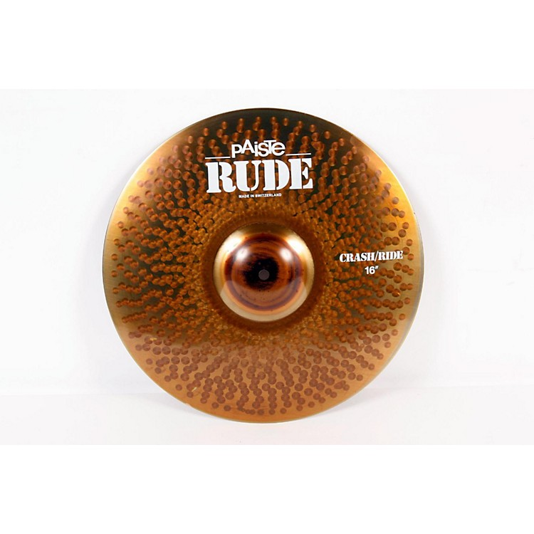 Paiste Rude Crash Ride Cymbal  888365230986
