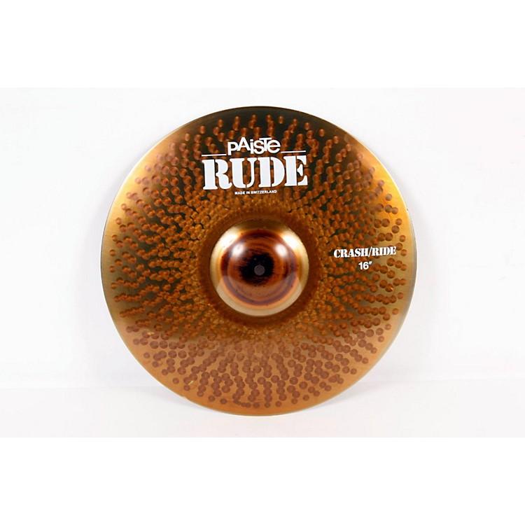 PaisteRude Crash Ride CymbalRegular888365230986