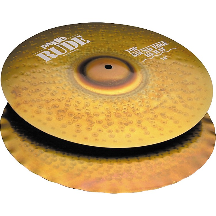 Paiste Rude Sound Edge Hi-Hat Cymbals  14