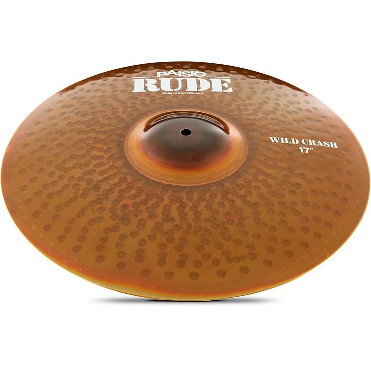 PaisteRude Wild Crash Cymbal17 in.