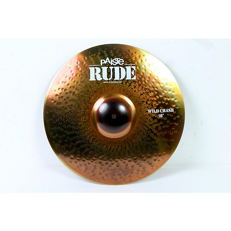 Paiste Rude Wild Crash Cymbal 18 in. 888365231068