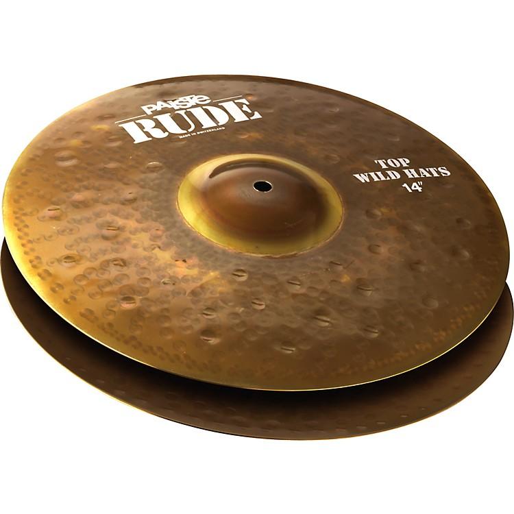 PaisteRude Wild Hi-Hat Cymbals14