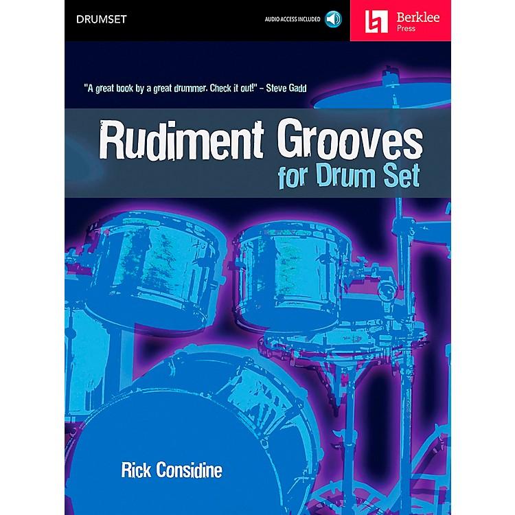Berklee PressRudiment Grooves for Drum Set (Book/CD)