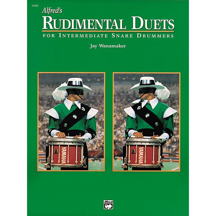 AlfredRudimental Duets For Intermediate Snare Drummers Book