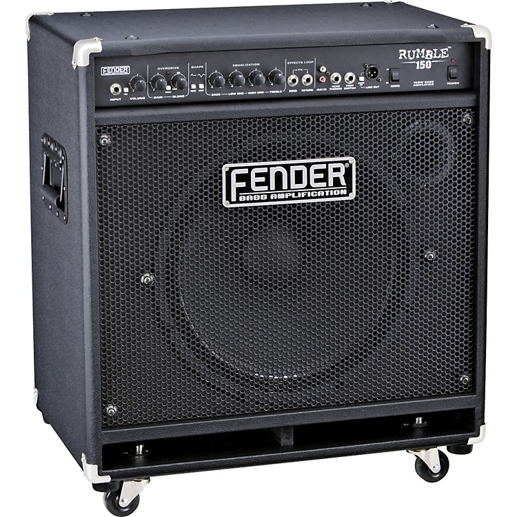 Fender Rumble 150 150W 1x15 Bass Combo Amp Black