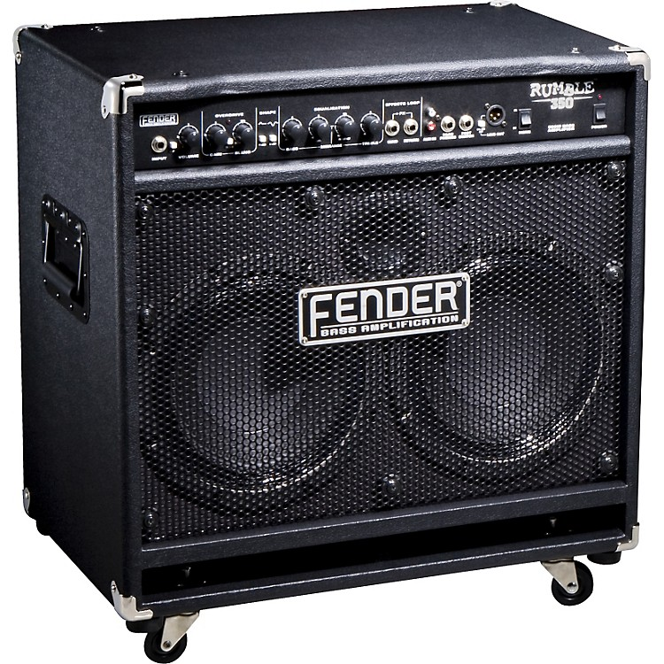 Fender Rumble 350 350W 2x10 Bass Combo Amp Black