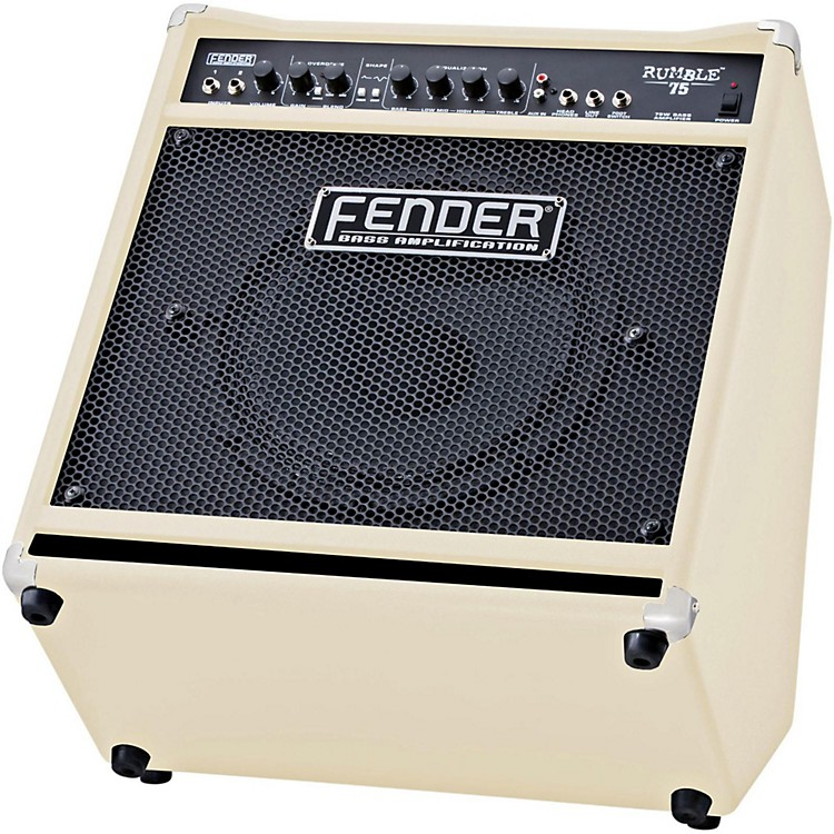 Fender Rumble 75 75W 1x12 Bass Combo Amp Blonde