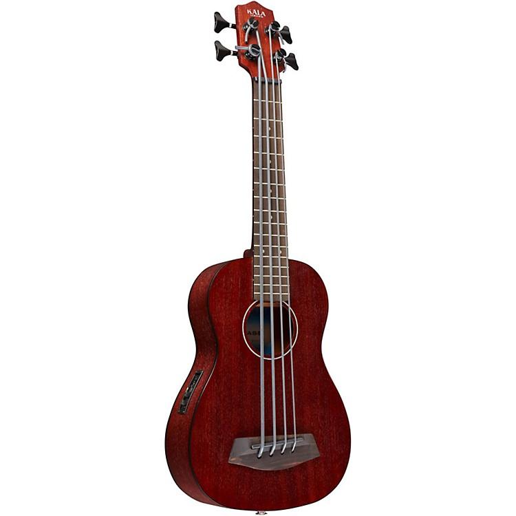 KalaRumbler Fretted Acoustic-Electric U-BassNaturalMahogany