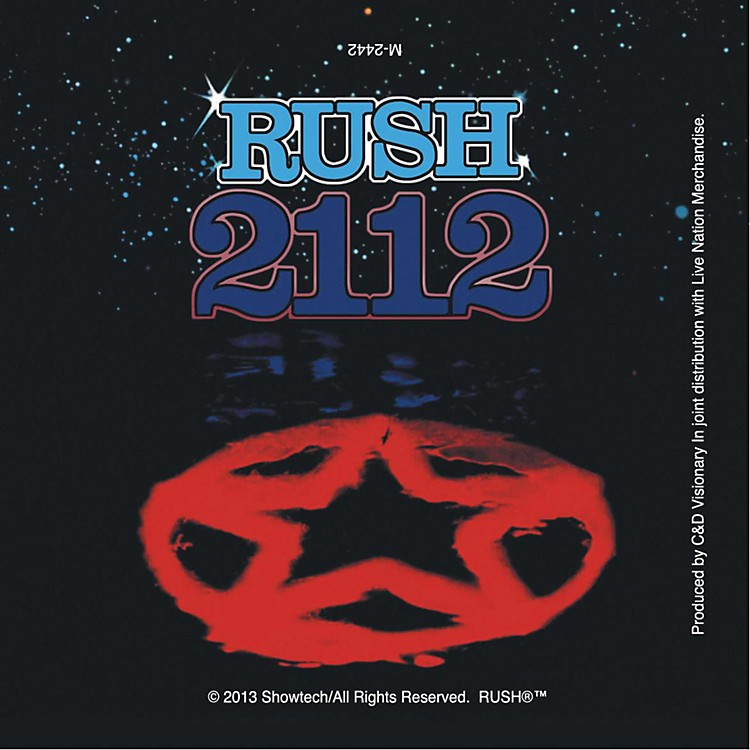 C&D Visionary Rush Magnet - 2112