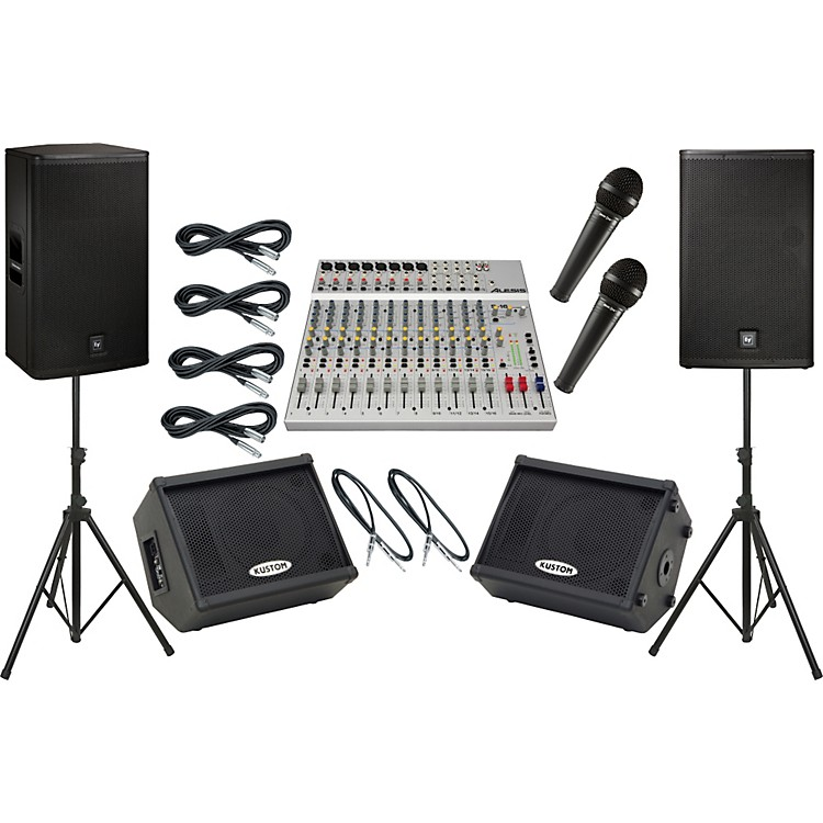 Alesis S-16 / EV ELX115P Mains and Monitors Package