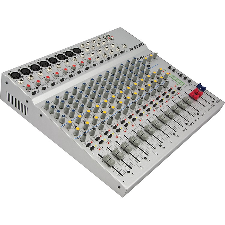 AlesisS-16 16 Channel Compact Mixer