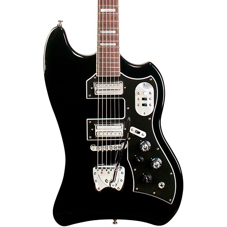 Guild S-200 TBird Solid Body Electric Guitar Black