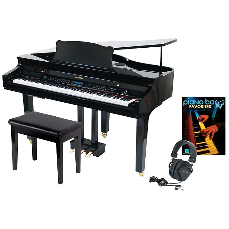 Suzuki S-350 Mini Grand Digital Piano Package