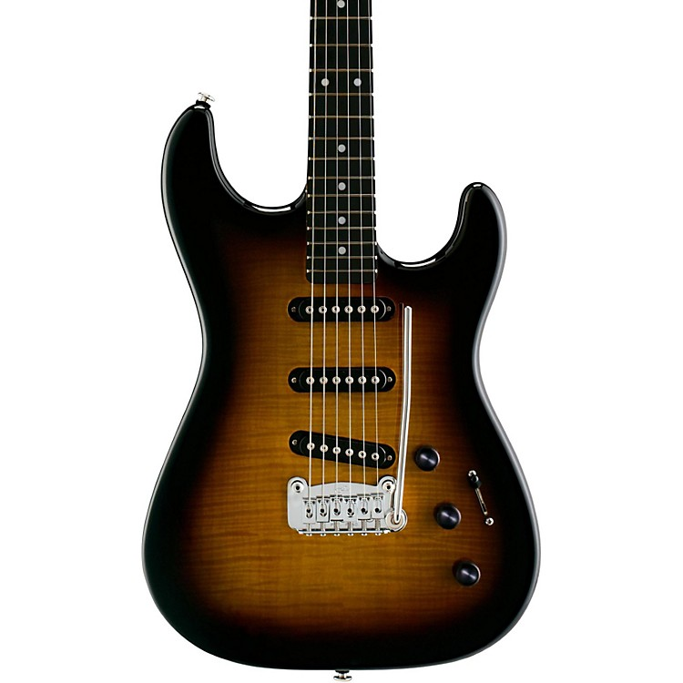G&L S-500 Deluxe Electric Guitar Tobacco Sunburst