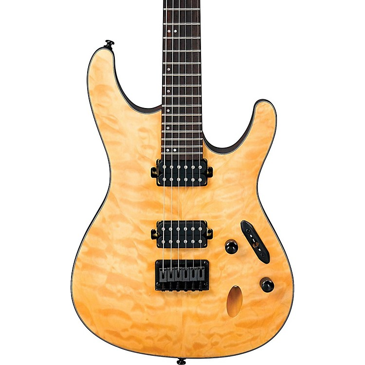 Ibanez S Series S621QM Electric Guitar Vintage Natural