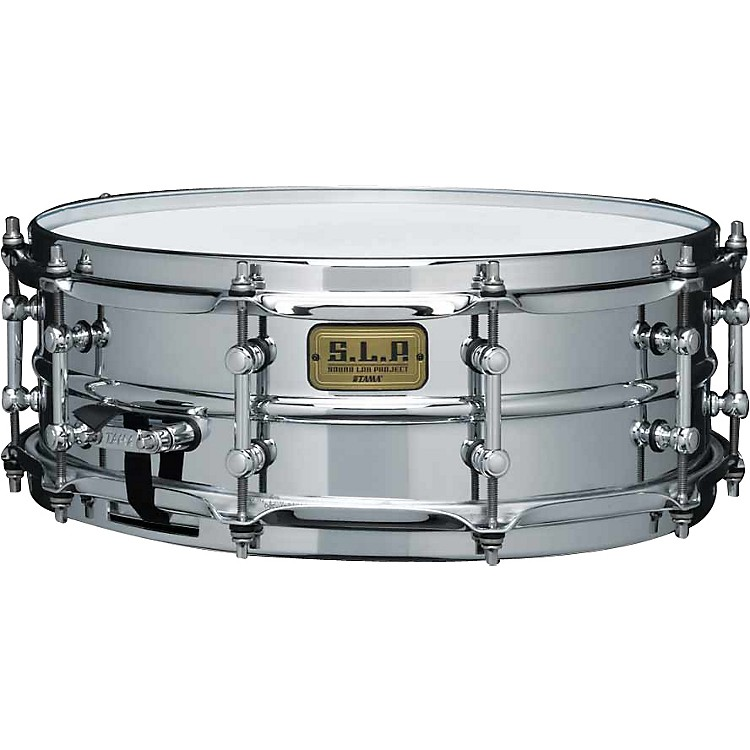 TamaS.L.P. Super Aluminum Snare Drum 5x145x145x14