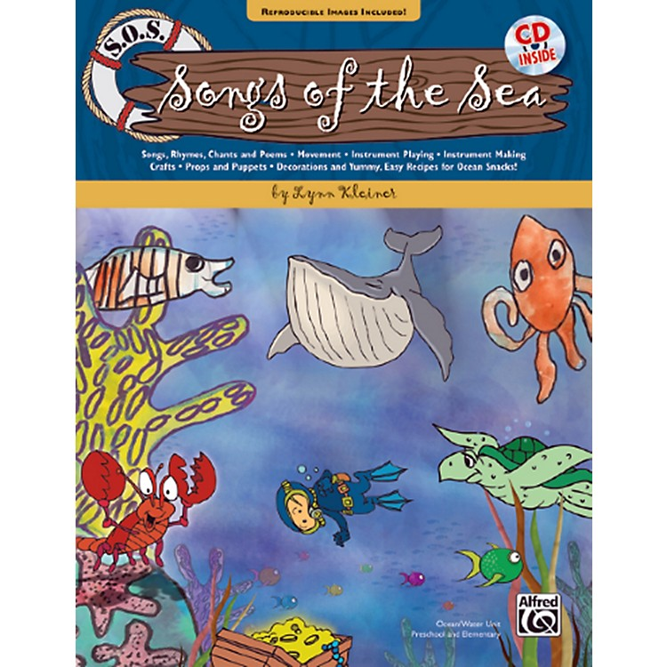 AlfredS.O.S. Songs of the Sea Book & CD