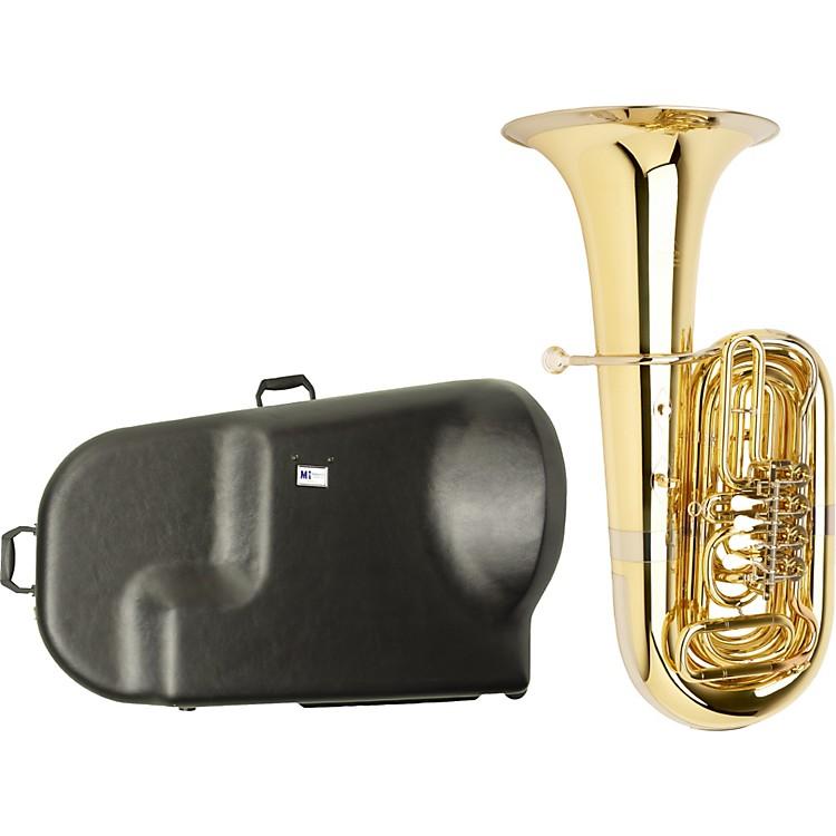 MiraphoneS186 Standard Series 4-Valve BBb Tuba with Hard Case