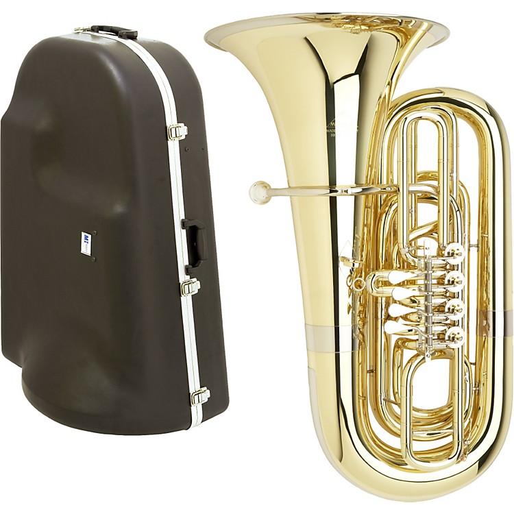 MiraphoneS191 Series 4-Valve BBb Tuba with Hard Case