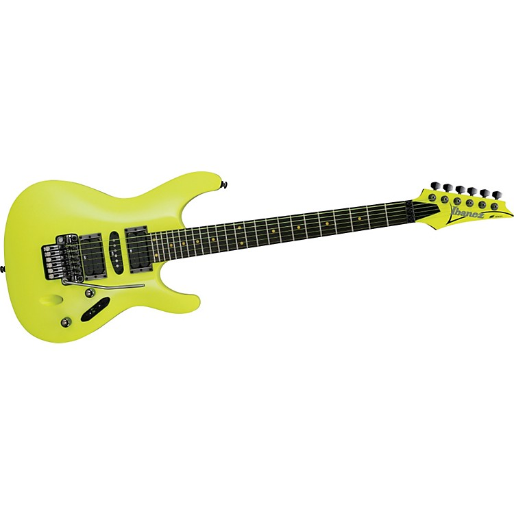 Ibanez S1XXV 25th Anniversary Electric Guitar Fluorescent Yellow
